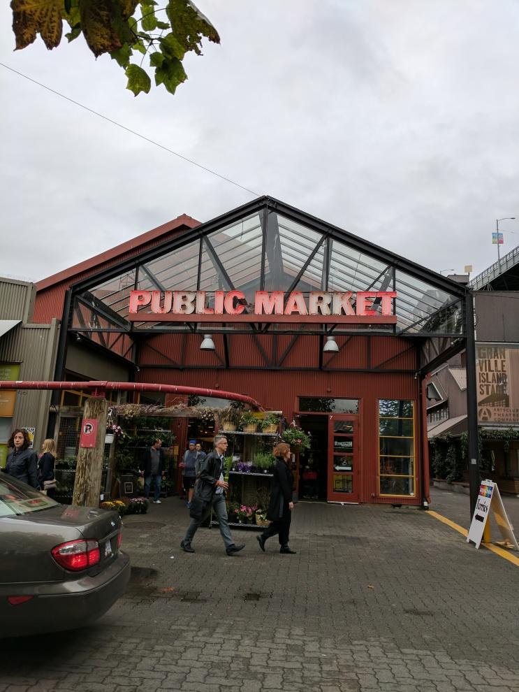 Public Market in Vancouver.