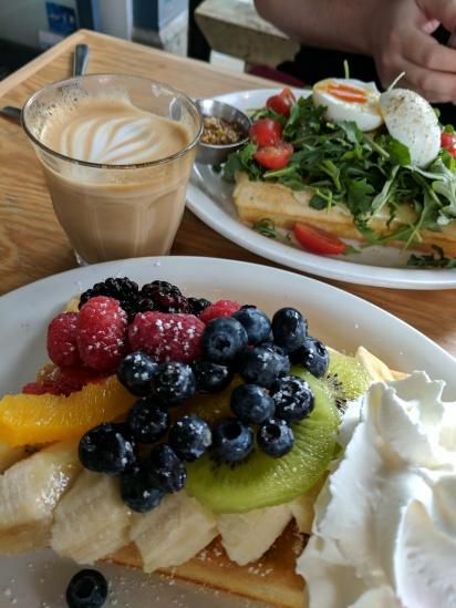 Delicious breakfast in Vancouver.