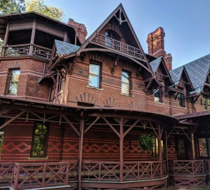 Mark Twain's real house in Hartford, Connecticut.