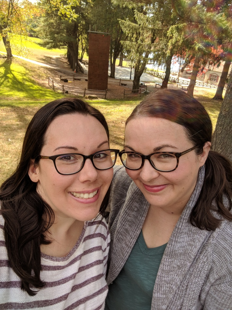 Me and my best friend in Connecticut.